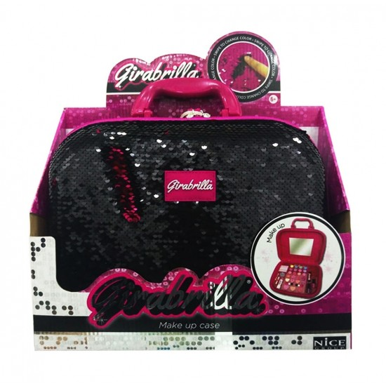 Girabrilla - Make Up Case - Black