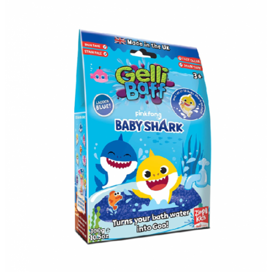 Baby Shark Gelli Baff Blue 300g